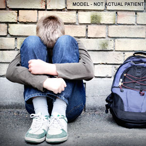 How do children and adolescents experience depression?